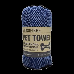 Microfibre Pet Towel - Blue